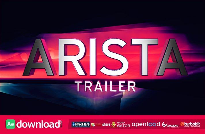 Arista Trailer free download (videohive template)