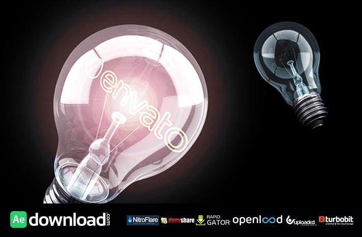 Bright Idea Light Bulb Logo