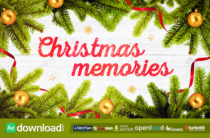 Christmas Memories free download (videohive template)