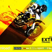 EXTREME CHANNEL – FREE VIDEOHIVE TEMPLATE