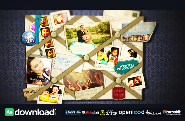 French Memo Board free download (videohive template)