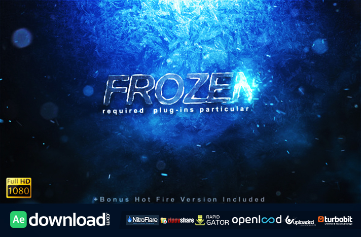 Frozen Reveal free download (videohive template)