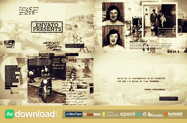History in Photographs free download (videohive template)