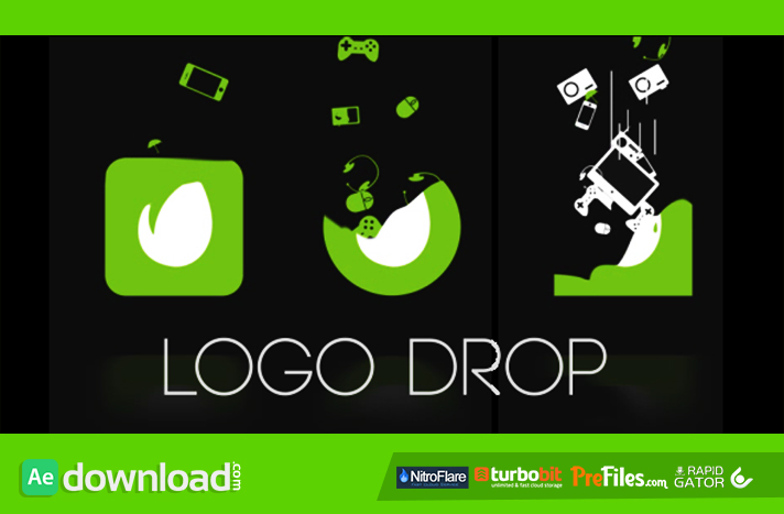 Logo Drop Free Download After Effects Templates