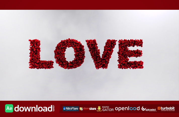 Love Leaves free download (videohive template)