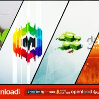 MINIMAL GLASS LOGO REVEAL (VIDEOHIVE PROJECT) FREE DOWNLOAD