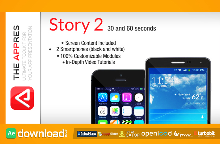 Mobile App Promo - Story 2 - The Appres