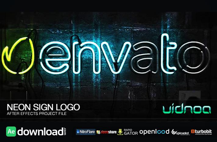 Neon Sign Logo