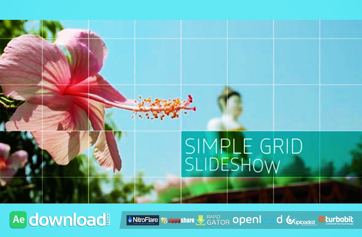 Simple Grid Slideshow free download (videohive template)