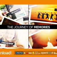 THE JOURNEY OF MEMORIES FREE DOWNLOAD VIDEOHIVE TEMPLATE