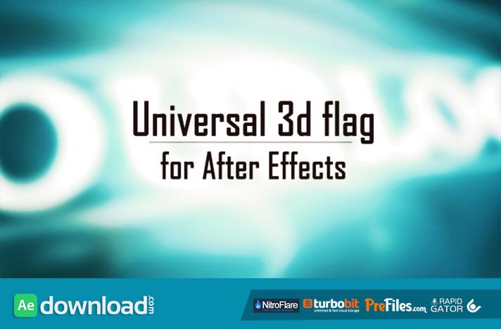 Universal 3D Flag