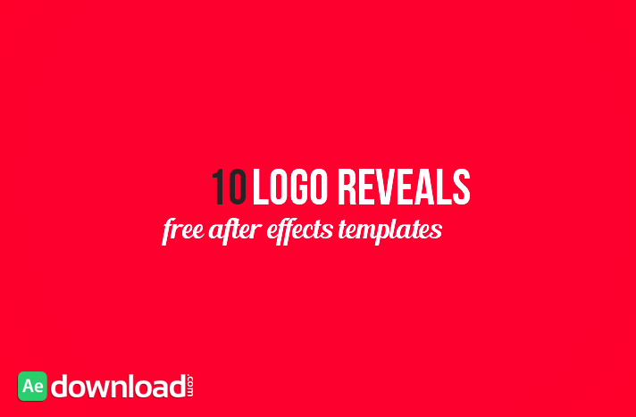 10 BEST LOGO REVEALS - FREE AFTER EFFECTS TEMPLATE