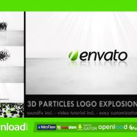 3D PARTICLES LOGO EXPLOSION – FREE DOWNLOAD AFTER EFFECTS PROJECT
