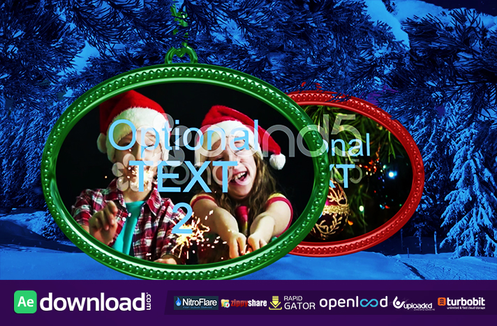 CHRISTMAS & NEW YEAR PROJECT - AFTER EFFECTS TEMPLATE (POND5)