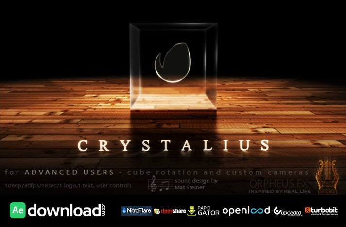 Crystalius - Cube Logo