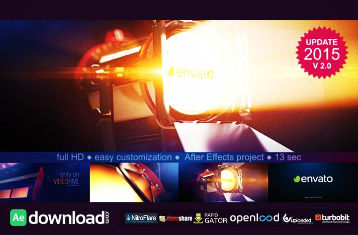 Film Light Logo Reveal