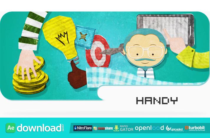Handy - Animated Promotional And Explaining Kit