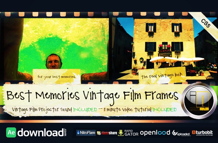 Home Files After Effects Project FilesVideo Displays Retro