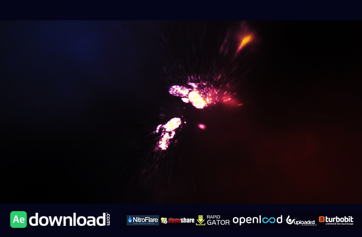 Particle Explosion Logo Reveal