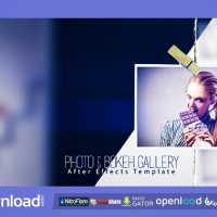 PHOTO & BOKEH GALLERY FREE DOWNLOAD VIDEOHIVE TEMPLATE