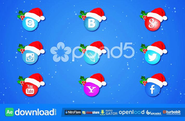 SOCIAL ICONS CHRISTMAS