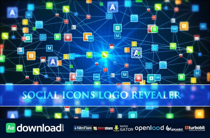 Social Icons Logo Revealer