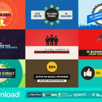 SOCIAL MEDIA AGENCY OPENER – FREE AFTER EFFECTS PROJECT (VIDEOHIVE)
