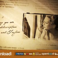WEDDING ALBUM (VIDEOHIVE) TEMPLATE – FREE AFTER EFFECTS PROJECT