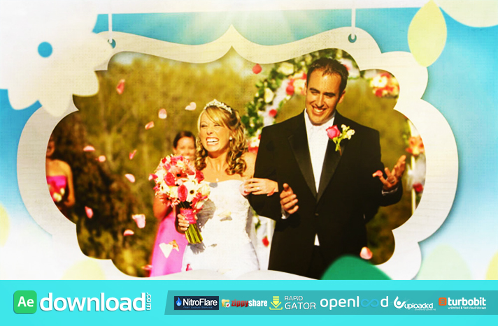 Wedding Photo Tree After Effects Template