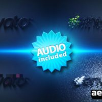 DISTORTED LOGO STING – AFTER EFFECTS PROJECT (VIDEOHIVE)