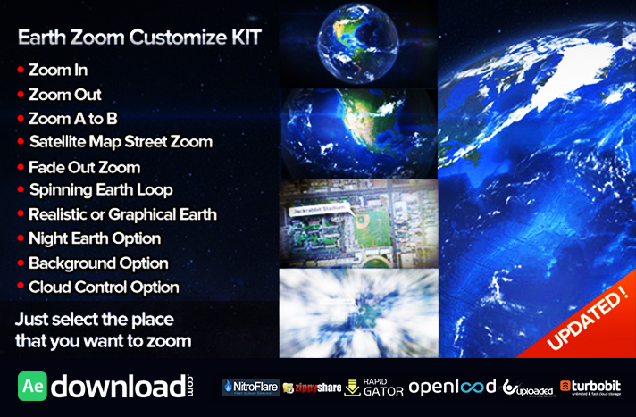 Earth Zoom Customize Kit 4