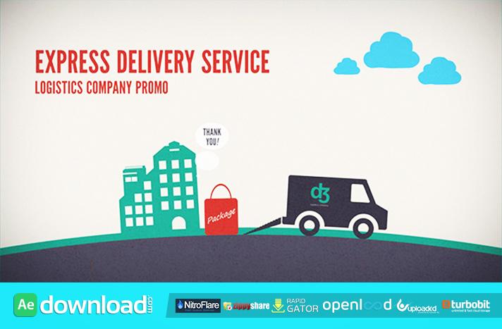Logistics Company Delivery PromoLogistics Company Delivery Promo