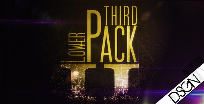 Lower Third Pack Vol.2 FullHD