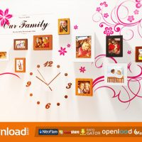 PHOTO WALL – FREE AFTER EFFECTS PROJECT (VIDEOHIVE)