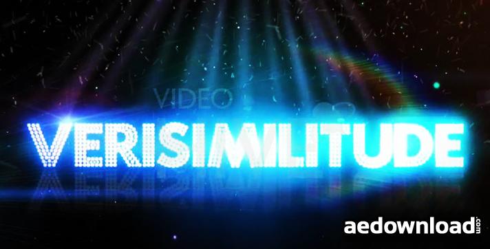 Verisimilitude Text Logo HD
