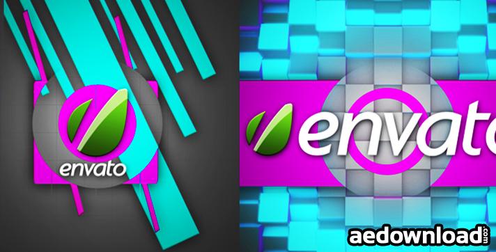 Cube Experiment Logo Animation