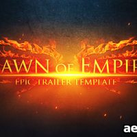 EPIC TRAILER – DAWN OF EMPIRE – AFTER EFFECTS PROJECT (VIDEOHIVE)