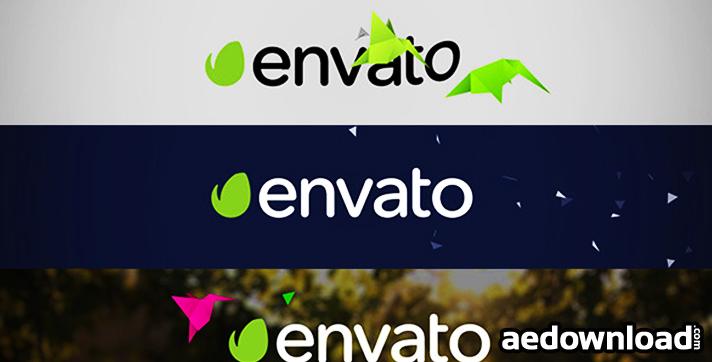 Flat Bird Quick Logo Reveal