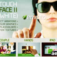 FUTURE TOUCH INTERFACE II (WHITE) – PROJECT FOR AFTER EFFECTS (VIDEOHIVE)