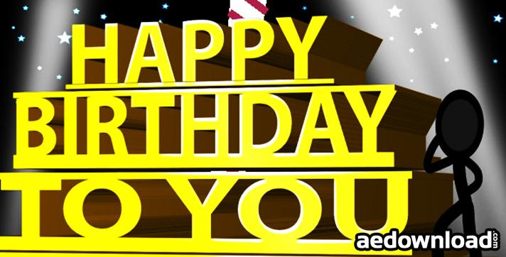 Happy Birthday Ecard - Inkman