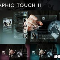 HOLOGRAPHIC TOUCH II – AFTER EFFECTS PROJECT (VIDEOHIVE)