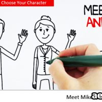 MEET MIKE&MARY WHITEBOARD – AFTER EFFECTS PROJECT (VIDEOHIVE)