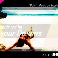 PAINT YOUR DREAMS – PROJECT FOR AFTER EFFECTS (VIDEOHIVE)