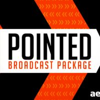 POINTED BROADCAST PACKAGE – PROJECT FOR AFTER EFFECTS (VIDEOHIVE)