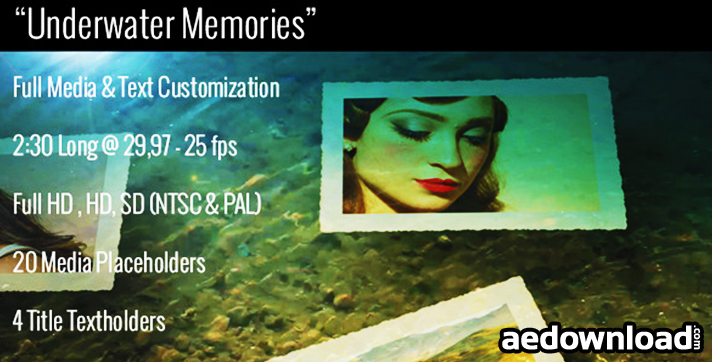 Underwater Memories Slideshow