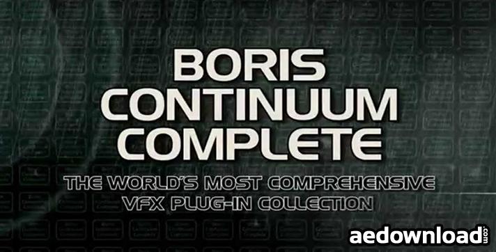BORIS CONTINUUM COMPLETE V9