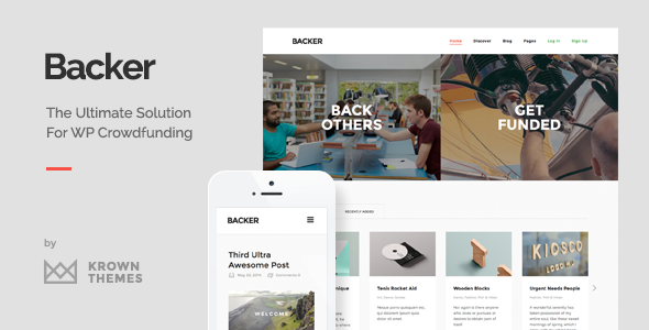 Backer-The-Modern-WordPress-Crowdfunding-Theme-