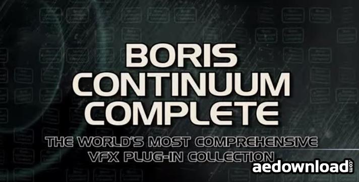 Boris Continuum Complete v9.0.1