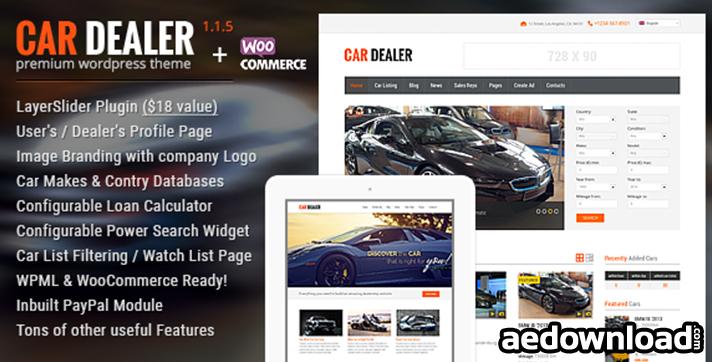 Car Dealer v1.1.7 – Auto Dealer Responsive WP Theme
