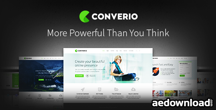 Converio v1.0.17 – Responsive Multi-Purpose WordPress Theme